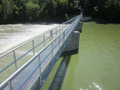 Fox River Removal and Replacement of Spillway Piers and Walkways