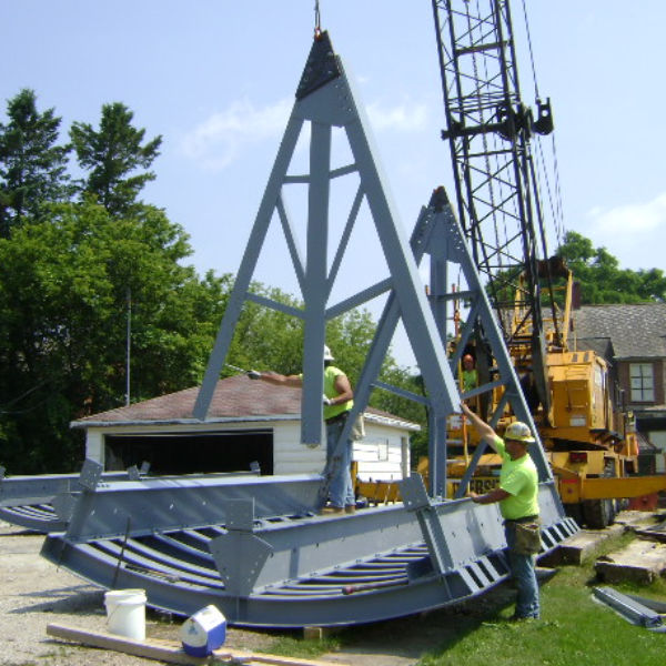 Fox River Dams Trunnion and Gate Repairs